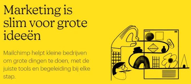 Mailchimp nederlands