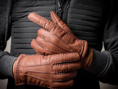 Luxe leren handschoenen voor heren bij frickin.nl